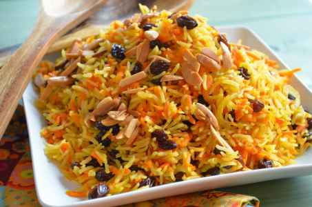 Shiraz Carrot Rice