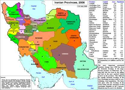 Iran Map | Map of Iran Cities | Let\'s Go Iran