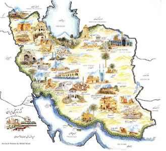 Iran Map Map Of Iran Cities Lets Go Iran - Iran map