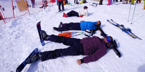 Iran Ski Tour in Dizin resort, Iran