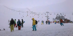 Iran Ski Tour in Tochal resort, Iran